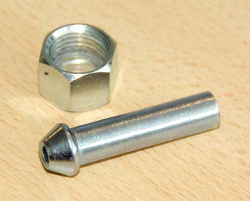 Benzinhahn gerader schlauchanschluß 8mm Fuel pipe adapter tap 82-3334//7 F3334