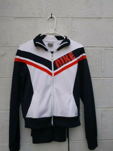 women's Nike vintage medium tracksuit navy blue wh