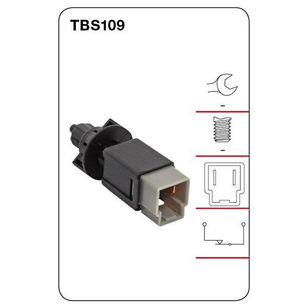 Tridon Brake Light Switch FOR NISSAN X-TRAIL PULSAR PATHFINDER NAVARA TBS109