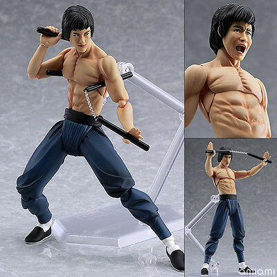 KUNG FU MASTER BRUCE LEE FIGURE FIGURINE STATUE NEW IN BOX