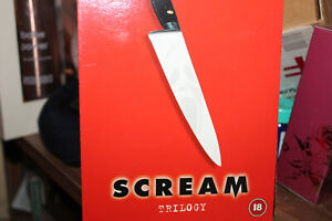 Scream Trilogy (DVD, 2011, 3-Disc Set, Box Set) new not sealed