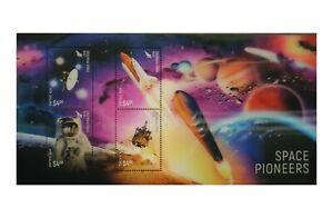 New-Zealand-2019-Space-Pioneers-3D-Lenticular-Stamp-Miniature-Sheet-Mint-MUH