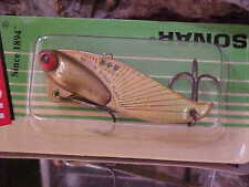 Heddon 1/2oz Rattling Sonar XO433FGL Color GOLD FLASH - Open water/Ice Fishing