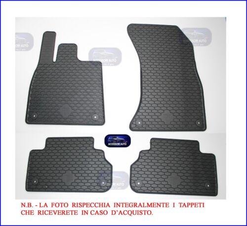 Tappetini auto in Gomma su misura Tappeti per auto Set 4 PZ Audi Q5 03//2017/>