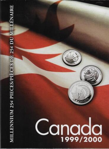 Uni-safe Canada 1999//2000 Millennium Coin Folder $3.99