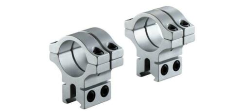 """BKL 301SS Double Strap 30mm 3//8/"""" 9-11mm Dovetail Scope Mount Rings"""