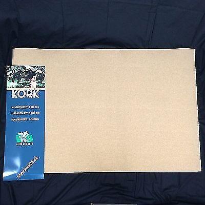 XL Pinnwand aus Kork 1,5x1m 4mm stark für Landkarten Baupläne oder Poster