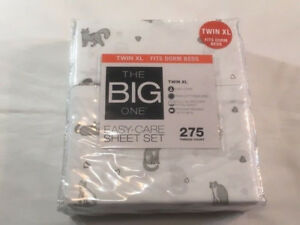 The Big One Twin XL Sheet Set   Catwalk 400621649389 | eBay