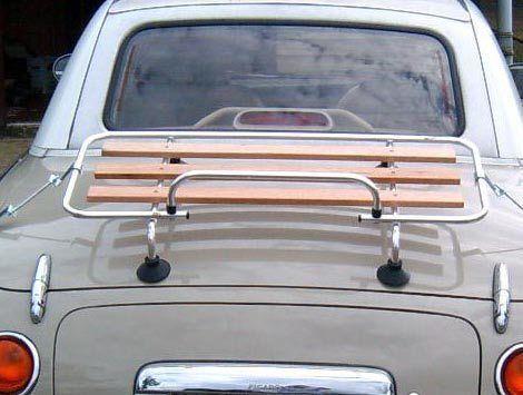 Mazda MX5 MK 1//2// MGB  Classic Luggage Boot rack Stainless Steel /& Wood