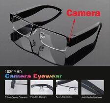 1080P 5MP HD Digital Video Spy Hidden Camera Glasses Cam Eyewear DVR Camcorder