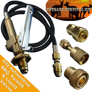 LPG-Filler-Gun-amp-Hose-Outback-Survival-Decanting-Kit