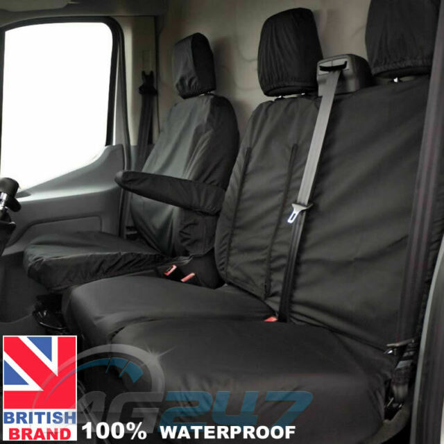 H.Duty Waterproof Tailored Van Seat Covers for Talento,NV300,Renault Traffic.SC5
