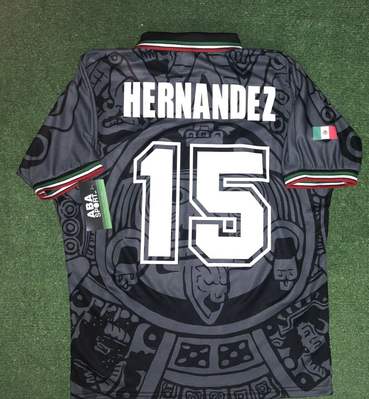 MEXICO1998 Luis Hernadez, Edición De Gala Talla Xl, auténtico Camisa Aba Sport
