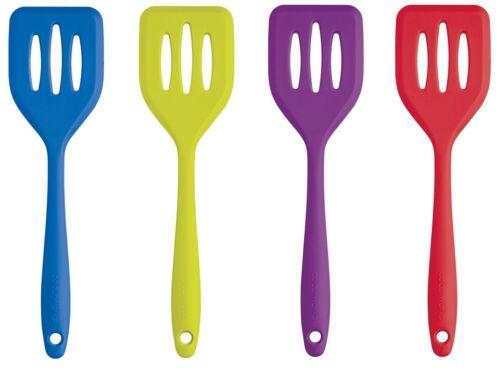 Kitchen Craft Colour Works Mini 20 cm Fish Slice /& Egg Turner Slotted Spatula