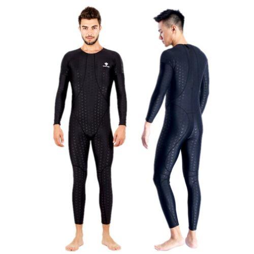 Men One Piece Swimwear Sharkskin Swimwear Competition Racing Full Body Swimsuit