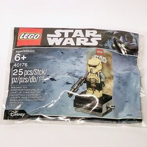 STAR-WARS-lego-IMPERIAL-SCARIF-STORMTROOPER-rogue-one-GENUINE-40176-polybag-MISB