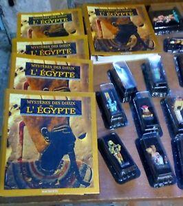 Les Dieux De L'egypte 99 Figurines Et Revues / Hachette État Neuf
