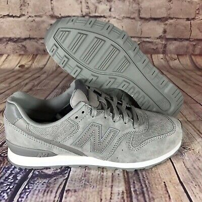 premium selection 36e6b f3be0 New Balance 696 Grey Suede Perforated Classics Sneakers Womens WL696WPG    eBay