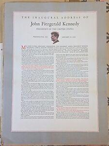 president john f kennedys inaugural address