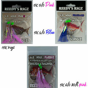 Snapper-Lure-Gift-Pack-Jigs-Rigs-Baits-Assit-Hook-Snatchers-Pack-Fishing-Line