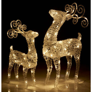 Outdoor christmas light up reindeer acrylic led light up polarbear image is loading outdoor christmas light up reindeer acrylic led light mozeypictures Choice Image