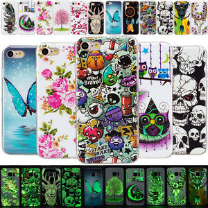 Lumineux-Housse-Etui-Coque-Cover-Souple-TPU-Silicone-Protection-pour-Samsung-New