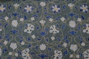 Zoffany Curtain Fabric Mille Fleurs 3 Metres Tapesty Green