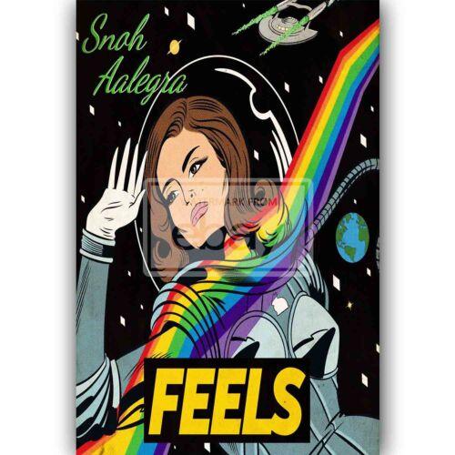 Sometimes Snoh Aalegra Feat Logic Custom New Art Silk Poster Wall Decor