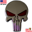 3D-Metal-Punisher-Emblem-Sticker-Skull-Badge-Decal-For-Car-Bike-Truck miniature 4