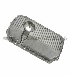 Audi a4 a6 quattro lower engine oil pan 06e 103 604g for Audi a6 motor oil