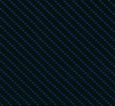 Wassertransferdruck Folie Chrome Carbon Blau - 100cm breit