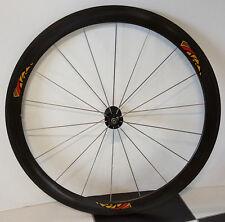 Ruota anteriore bici Corima carbonio copertoncino 50mm bike front wheel