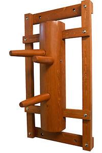 2 Wing Chun Ving Tsun Fu Ip Mann Schutzhülle Pad Leder Holz Dummy Holzpuppe I