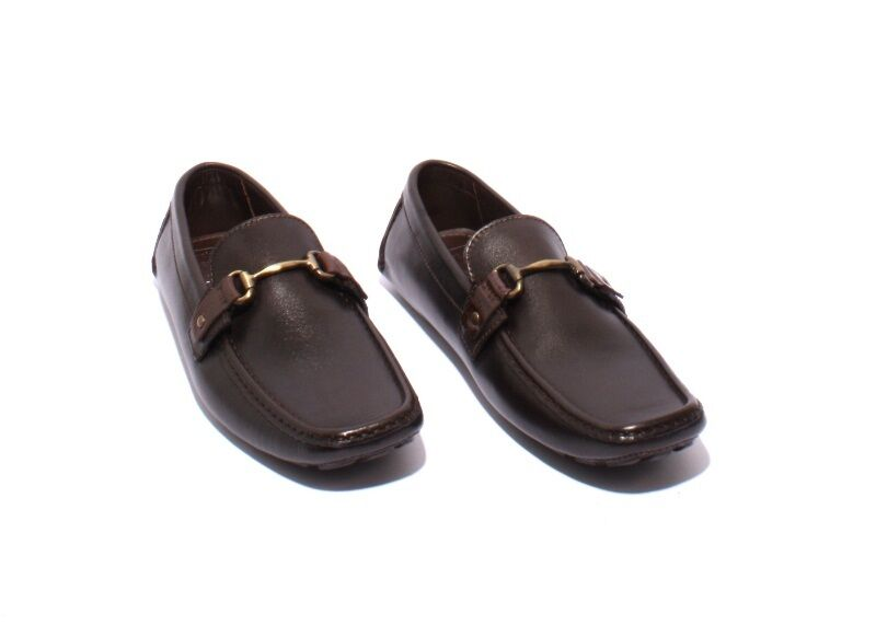 ROBERTO SERPENTINI 1003a Brown Moccasins Pelle Driver Moccasins Brown Loafers 43 / US 10 54d971
