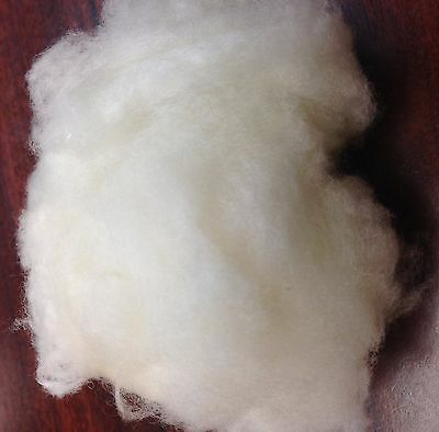 100% Cashmere Fiber, White, 5.0 Oz. Shipped From Within Us. Fijn Vakmanschap