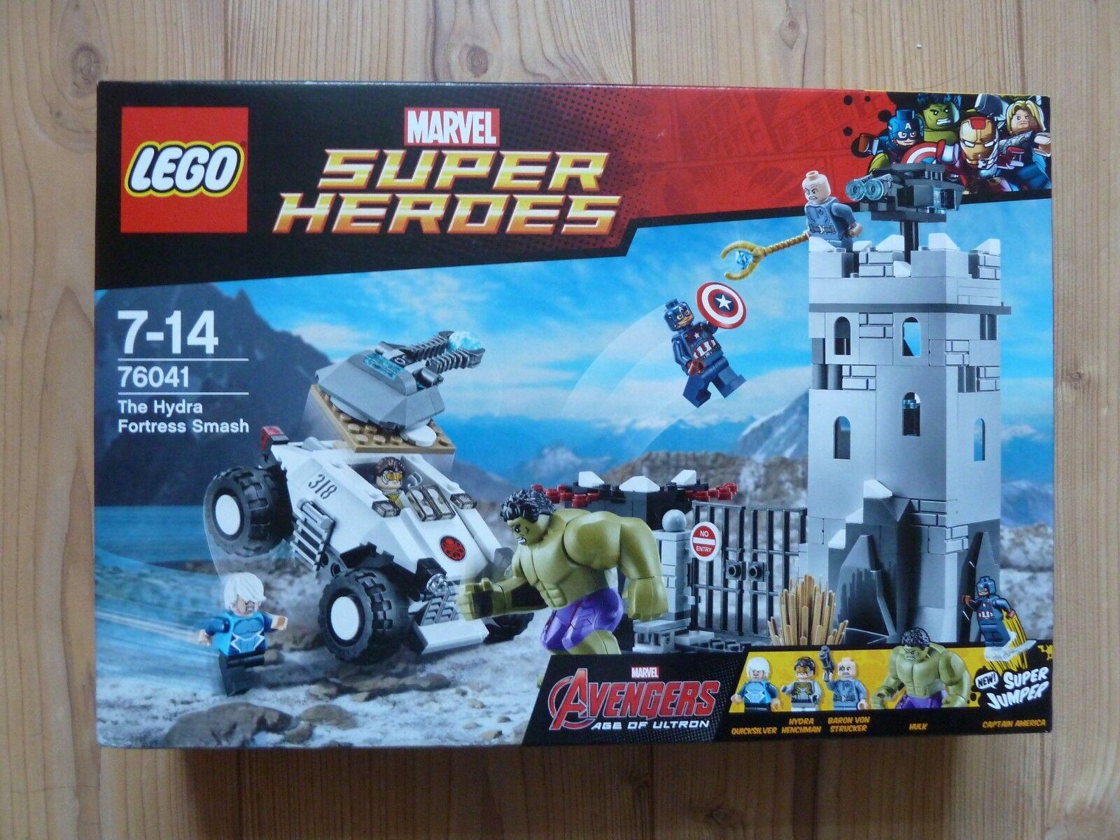 LEGO MARVEL SUPER HEROES scasso in la Hydra-fortezza  76041  NUOVO E OVP