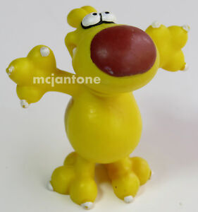 LOOSE-Blake-039-s-Lottaburger-1989-GRIMMY-ARMS-SPREAD-WIDE-Cartoon-Dog-CAKE-TOPPER