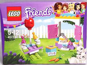 LEGO-Friends-41113-Party-Geschenkeladen-Geld-Haeschen-Kasse-Wippe-NEU-RAR-Sealed
