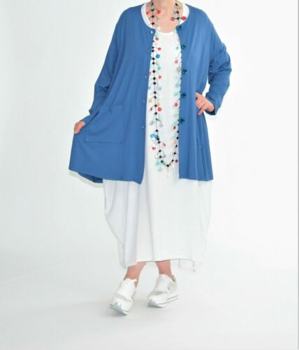 ♦ 4 couleurs AKH fashion Chemisiers-Veste Taille 48,50,52,54,56,58,60 ♦