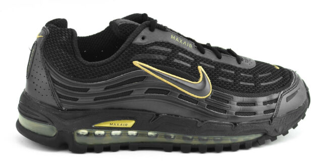 MENS NIKE AIR MAX TL 2.5 2006 RUNNING SHOES BLACK GOLD 314757 002 SIZE 9