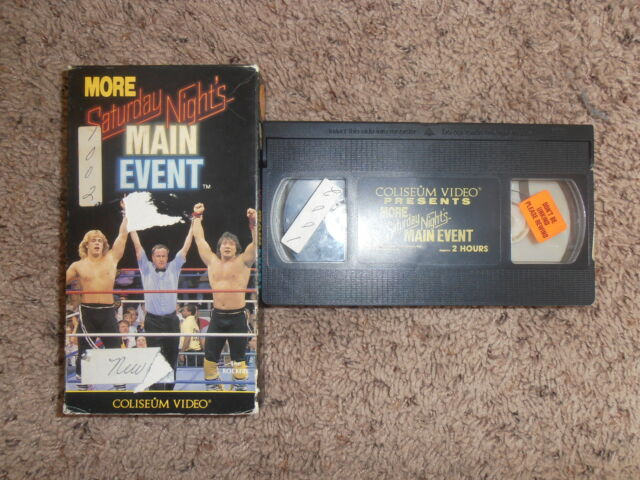 More Saturday Nights Main Event (VHS, 1989)