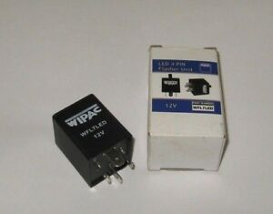 Wipac-Land-Rover-Defender-LED-Flasher-Unit-4-Pin-Relay-WFL7LED