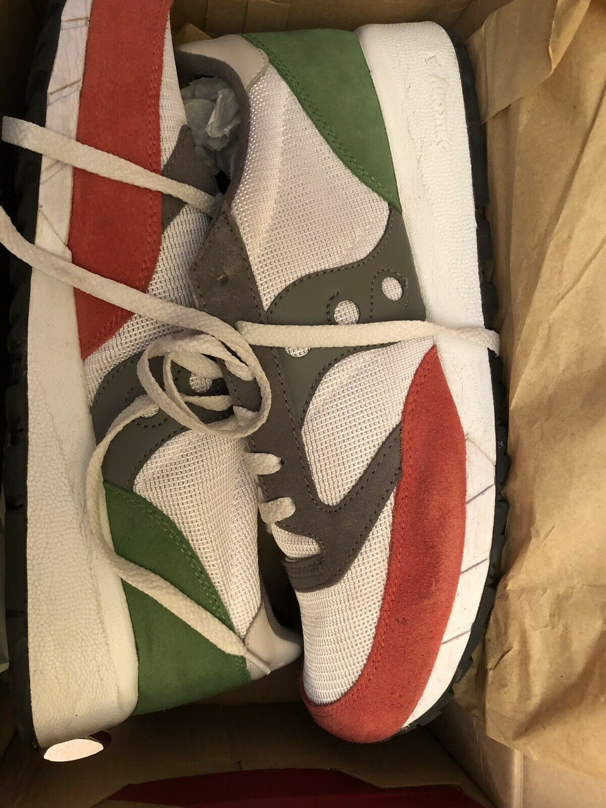 Saucony Jazz 91 US 12 Italian Flag