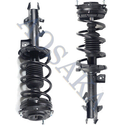 Front and Rear Struts for 07-12 Nissan Versa