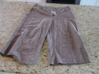 Studio 1940 Womens Brown Dress Shorts Size 12