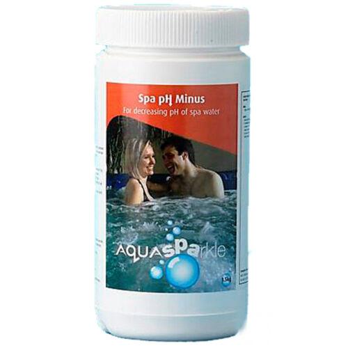 Aquasparke 1.5 kg ph-minus réducteur hot tub spa spas piscine espèce évolution régressive down