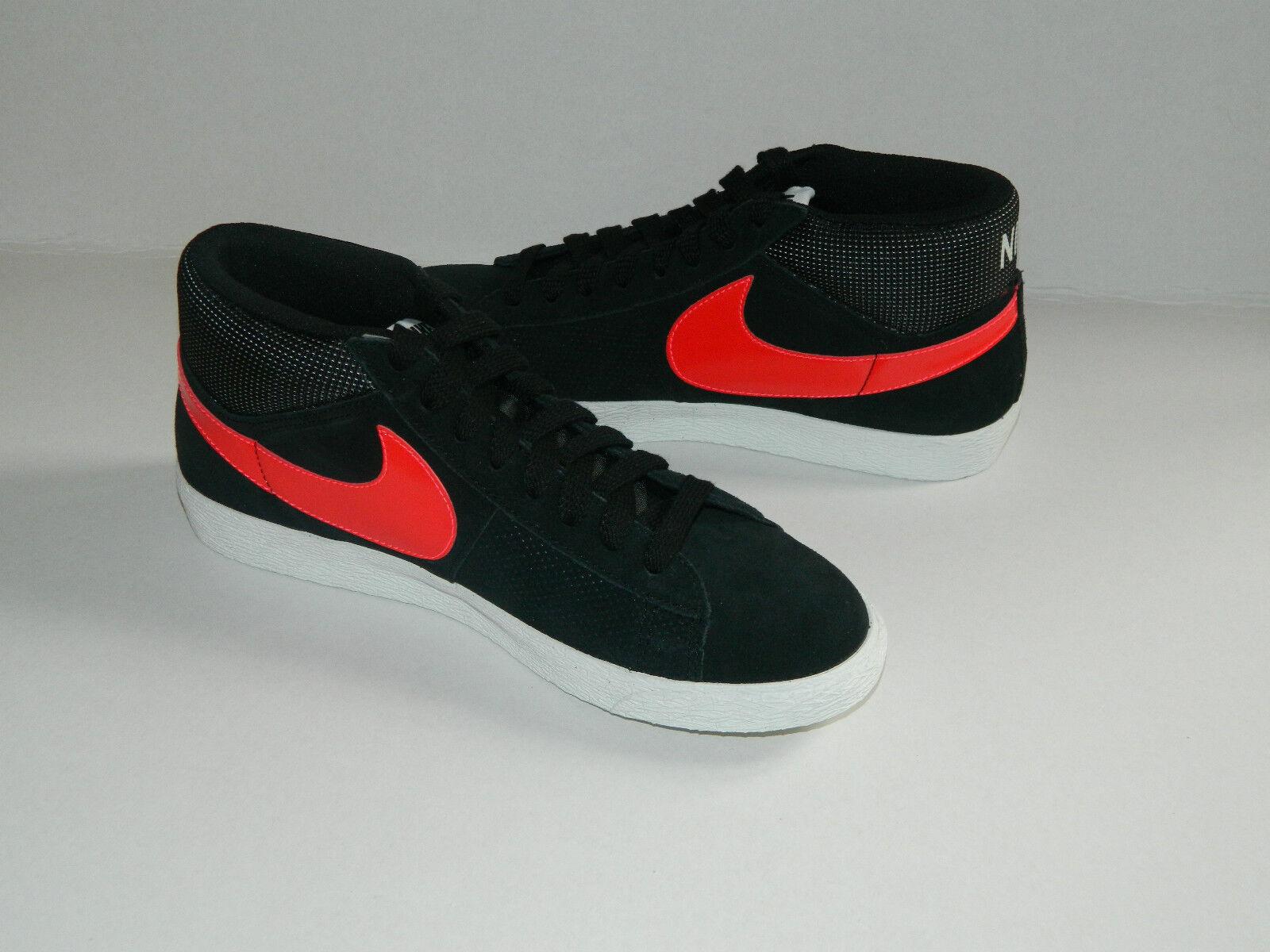 Nike Mujer Blazer Mid 2.0 Negro/Rojo para Mujer Zapatillas 5.5 Zapatos Tallas _ 5.5 Zapatillas 3c0d38