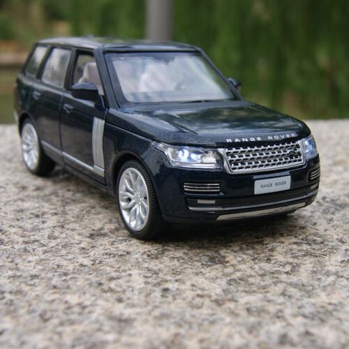 Land Rover Range Rover Model Cars 1:34 SUV Black Sound&light Gifts Alloy Diecast