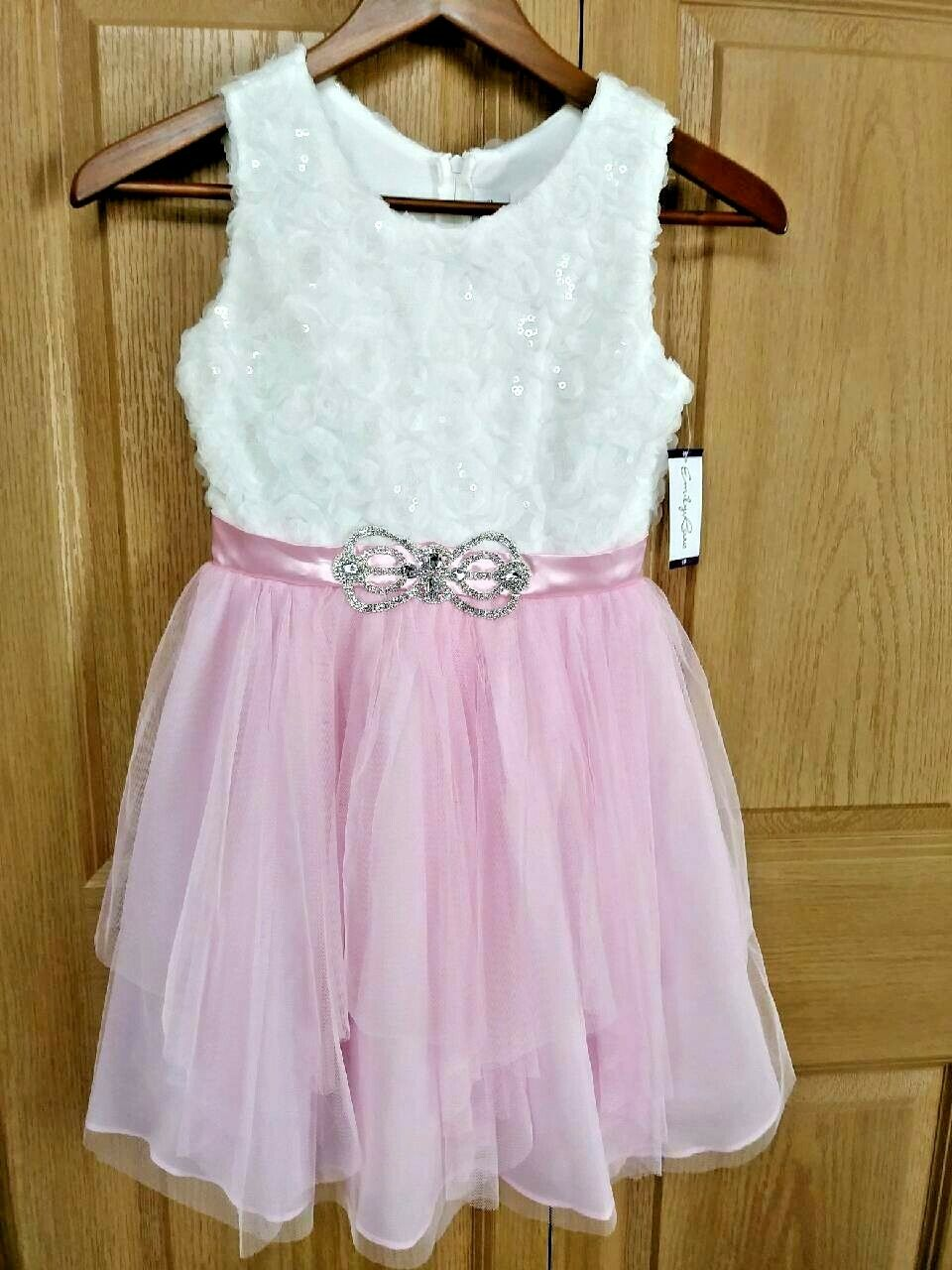 2 Girls Formal Wedding Bridesmaid Party Dresses - New with Tags! Size 10