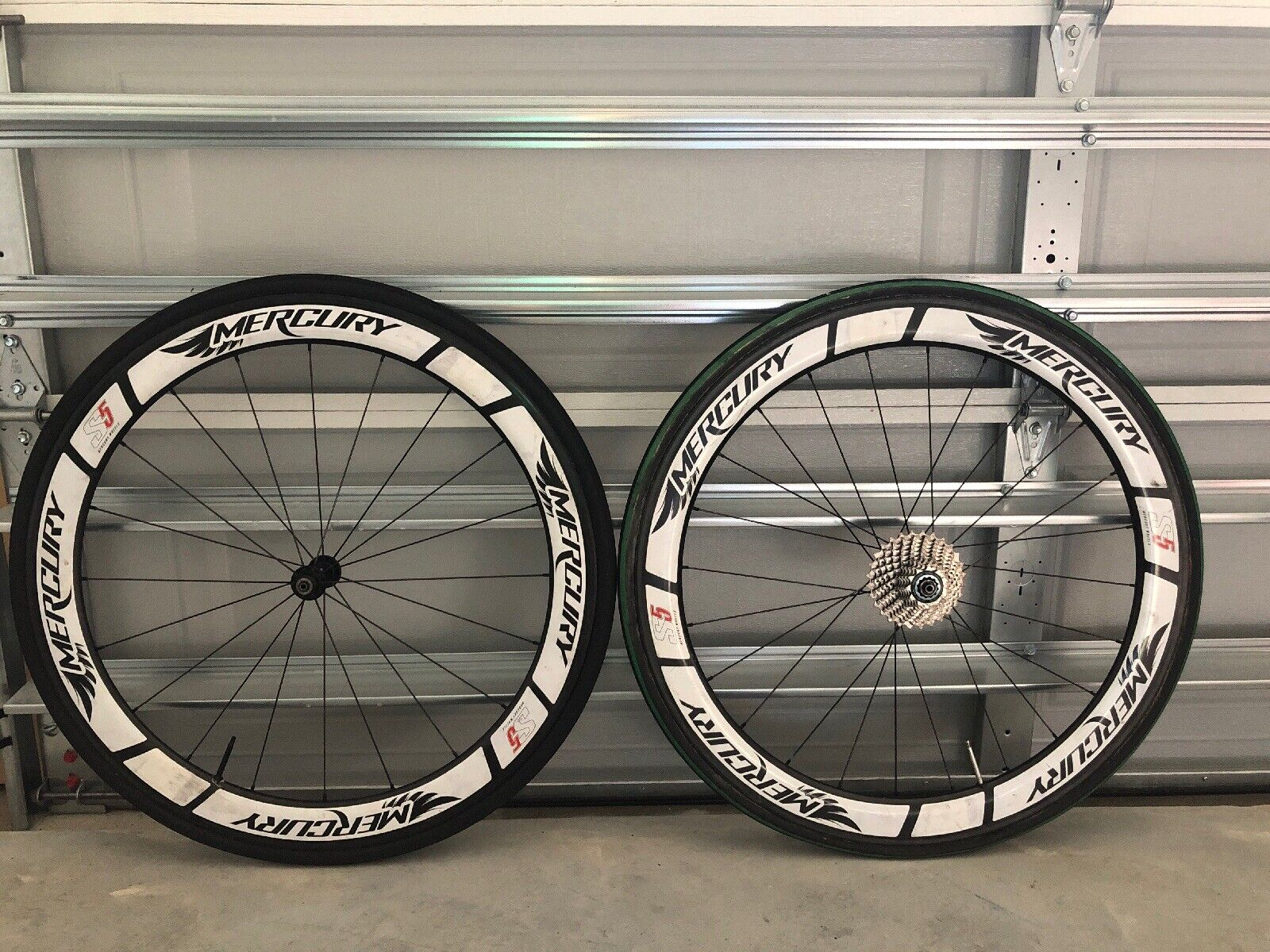Mercury S5 Tubular Wheelset 700c